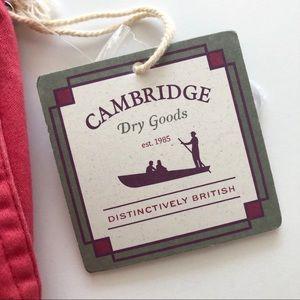 Cambridge Dry Goods Shorts - NWT Cambridge Dry Goods Salmon Colored Shorts